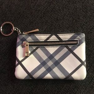 Key chain card holder/coin wallet